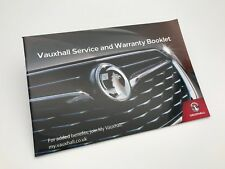 GENUINE Vauxhall MOVANO VAN Service Book 2019 New Style - NEW - No stamps