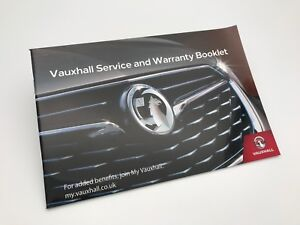 GENUINE Vauxhall COMBO LIFE Service Book 2018 New Style - NEW - No stamps