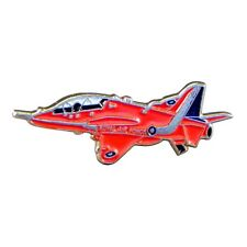 Metal Enamel Aeroplane Lapel Pin Badge Hawk Jet Red Aerobatic Plane -