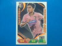 2012-13 Panini Calciatori Paulo Dybala Rookie Card Soccer Palermo Juventus