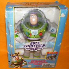 "1995 DISNEY TOY STORY BUZZ LIGHTYEAR 12"" ULTIMATE TALKING ACTION FIGURE BOXED"