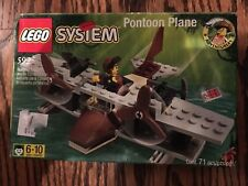 Lego 5925 Adventurers Pontoon Plane System Brand New in Sealed Box 1999 NIB
