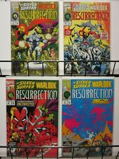 SILVER SURFER & WARLOCK RESURRECTION (1993)1-4 Starlin
