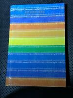 VINTAGE Little  Mini Rainbow Color Address Book