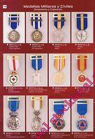 Medallas militares y policiales ornamento y coleccion  m19