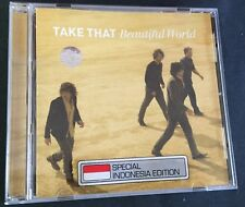 TAKE THAT BEAUTIFUL WORLD CD BRAND NEW ASIA RELEASE FREE POST
