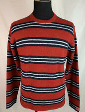 Abercrombie & Fitch Men's Striped Knit Wool Sweater Size Small