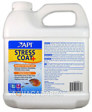 API Stress Coat 1.9L Water Conditioner Dechlorinator Treatment Fresh Aquarium
