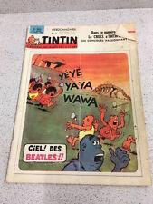 TINTIN  N°855 17e ANNEE  11 MARS 1965 REVUE MAGAZINE VINTAGE