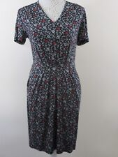 NWOT. Papaya Dress. UK 10. Blk,tiny wht dots.Red & wht floral. V-neck.