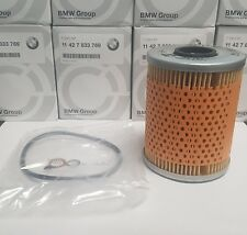 Genuine BMW M3 Oil Filter E36 E46 With Sump and Cap Gaskets 11427833769