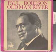 "45 T SP PAUL ROBESON "" OLD MAN RIVER"""