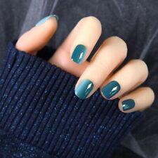 Full Cover False Nails Gradient Stylish Press On Fingernails Accessory Kit 24pcs