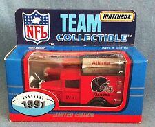 ATLANTA FALCONS New in Box 1991 NFL Limited Edition Matchbox Truck
