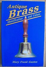 VINTAGE BRASS PRICE GUIDE COLLECTORS BOOK CANDLEHOLDER BELLS KETTLE DOOR KNOCKER