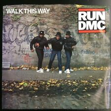RUN DMC Walk This Way / King Of Rock 45 EXCELLENT