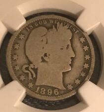 Certified 1896-o Barber NGC G4