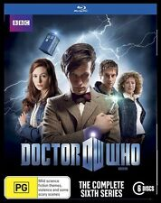 DOCTOR WHO - THE COMPLETE SIXTH SERIES BLU-RAY DVD - 6 DISCS - FACTORY SEALED