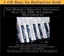 NEW Accordion: The World's Greatest Virtuosos Play 100 Accordion Masterpieces