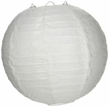 """Ooouse ais8Evp-Wh-10 Round Paper Lantern (10 Pack), 8"""", White"""