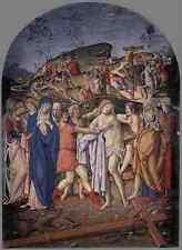 Metal Sign Francesco Di Giorgio Martini The Disrobing Of Christ A4 12x8 Aluminiu