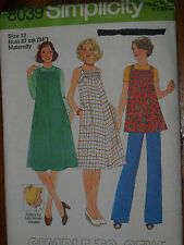 Simplicity Maternity Dress , Jumper (Pinafore) or Top  Pattern 8093 - Size 12