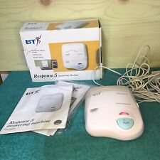 Vintage BT Response 5 Answering Machine With Microcassette