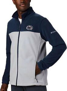Penn State Nittany Lions NCAA Flanker III F.Z. Fleece Jacket XXL/Columbia/NWT!!