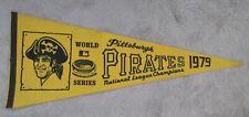 1979 Pittsburgh Pirates World Series MLB Baseball Pennant Three Rivers Stadium