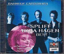Spliff / Nina Hagen Bahnhof Carbonara  (Best) Zounds CD
