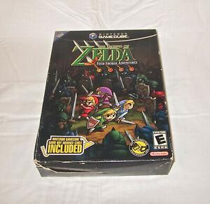 Legend of Zelda Four Swords Adventures Nintendo GameCube 2004 FACTORY SEALED New