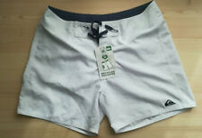 Mens Quiksilver swim shorts, size 30, white