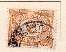 Países Bajos 1898-99 rápida de los problemas Fine Used 2c. 149305