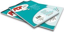 Pebeo Pop Art 100% algodón purgada Lienzo Pad A3