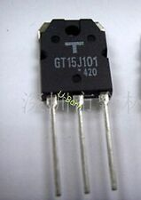 TOSHIBA GT15J101 TO-3P Silicon N-Channel IGBT for High