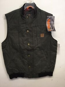 WALLS YE825 WORN-IN QUILTED DUCK WORK VEST