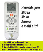 Telecomando condizionatore climatizzatore  Midea - Maxa - Aurora condizionata