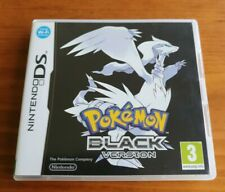 Pokemon: Black Version (Nintendo DS, 2011) With case and manual