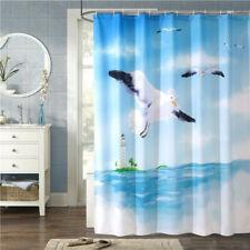 Bathroom Balloon Animals Waterproof Shower Curtain  Mildew Proof with Hooks HZ