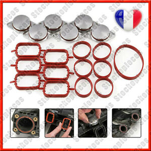 6X KIT DE SUPPRESSION CLAPET/VOLET D'ADMISSION 33MM POUR BMW E60 E61 530d 530xd