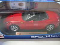 1:18 SCALE Maisto Ferrari California T Convertible  Diecast Car RED