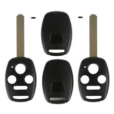 2pcs Remote Key Fob Shell Pad Case 4 Button for 2003 04 05 06 2007 Honda Accord