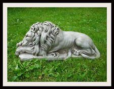 "Concrete / Cement  Mold 31"" Laying  Lion Statue Latex rubber / Fiberglass"