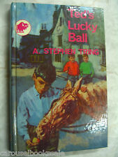 Ted's Lucky Ball A Stephen Tring 1968 Childrens Adventure Stories hc A90