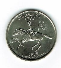1999-D  Brilliant Uncirculated Delaware 1ST State Quarter Coin!