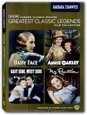 Baby Face / My Reputation / East Side, West Side / Annie Oakley DVD New