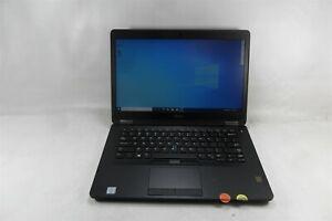 """Dell E7470 14"""" Laptop 2.6GHz i7-6600U 8GB DDR4 256GB SSD Windows 10 Pro Grade A"""