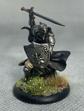 Knight with Sword and Shield Painted Miniature for D&D or Pathfinder Fantasy RPG