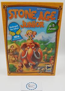 Brettspiel Gesellschaftsspiel - Stone Age Junior -vollständig sehr guter Zustand