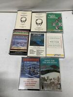 Lot of 8- Christmas Holiday Cassette Tapes